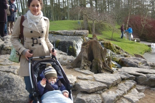 One of our many visits to the Japanese Gardens.